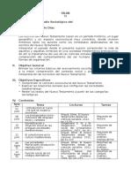 Silabo Sociología Del NT Julio-Ago 2017 - SBP
