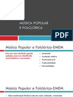 Apresentação Musica Folclorica 1