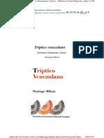 Trìptico Venezolano -Domingo Miliani