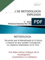 Ejemplo de Metodología Empleada