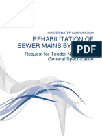 Technical Specification-rehabilitation of Sewer Mains by Lining-2