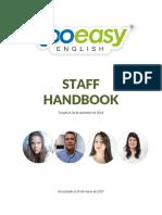 Staff Handbook - 4ta Edición Too Easy English