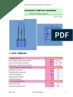 Perhitungan Sambungan Dan Base Plat