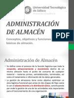 Administración de Almacén