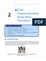 Oral Communication - Some Basic Principles