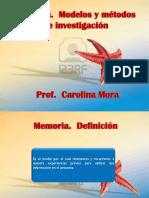 Memoria Modelos y Metodos Sternberg 5