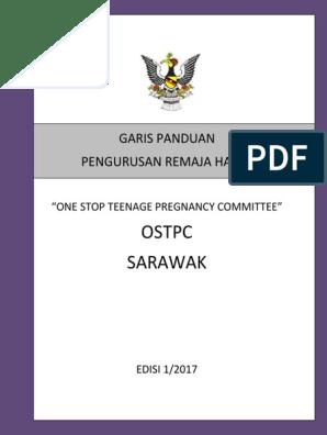 Garis Panduan Pengurusan Remaja Hamil Ostpc Sarawak Edisi 1 2017