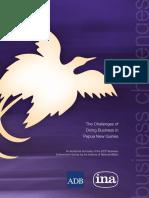 Png Business Environment Survey