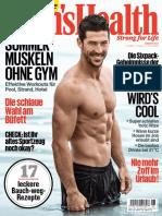 Men's Health Germany - August 2017