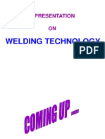 Day-1 Lecture 1 Welding Technology