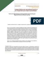 El uso de una estrategia híbrida entre aprendizaje basado en.pdf