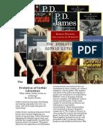 the evolution of gothic literature
