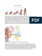 infancy and toddlerhood period of development eportfolio