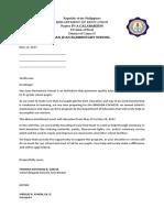 Brigada Eskwela 2017 Letter