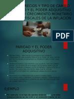 Dinero,Precios y Tipo de Cambio Macroeconomia
