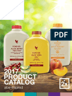 Forever Living English Product Brochure 2017