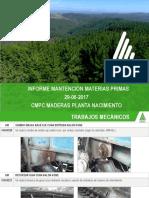 Informe de Mantención 29.06.2017 Materias Primas