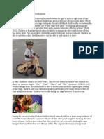 early childhood period of development eportfolio