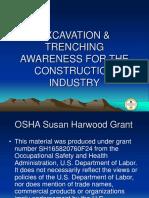 Excav Trenching