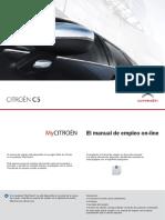 Manual Citröen C5 X7 2012