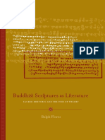 Buddhist Scriptures as Literature - Sacred Rhetoric and the Uses of Theory - Ralph Flores