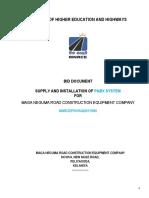 Tender Document (PABX) New