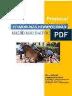 Proposal Qurban 1435 H