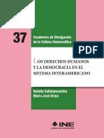 37 Los Derechos Humanos y La Democracia en El Sistema Interamericano