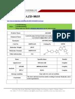 Datasheet of AZD8835|CAS 1620576-64-8|sun-shinechem.com