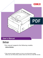 Oki User Manual c822