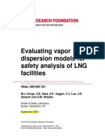 Nfpa Evaluating Vapour Dispersion