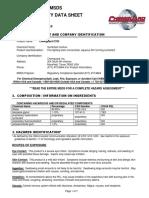 Chemguard c333 Ar-Afff 3% Msds