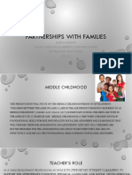 partnership with families