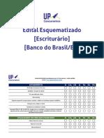 Edital Esquematizado - Escriturário_BB_BR