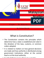 Malaysian Studies-Chapter 3 the Malaysian Constitution(3)