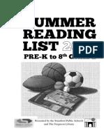 Summer Reading List 2016 v.3
