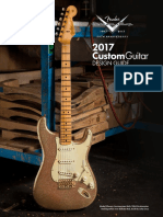 2017 Fender Custom Shop Design Guide