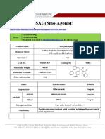 Datasheet of SAG(Smo-Agonist) CAS 912545-86-9 sun-shinechem.com