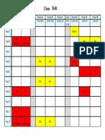 5HR Timetable