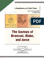 The Saying of B, B, And Joyce. CLP