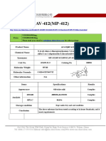 Datasheet of AV 412(MP 412)|CAS 451493-31-5|sun-shinechem.com