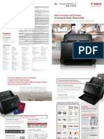 Canon DR-C240 Brochure