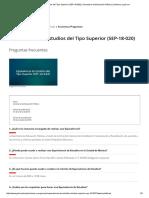 Equivalencia de Estudios Del Tipo Superior (SEP-18-020) _ Secretaría de Educación Pública _ Gobierno _ Gob
