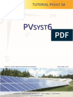 PVSYST - Tutorials