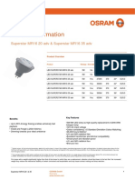 OSRAM Superstar MR16 20 adv & Superstar MR16 35 adv
