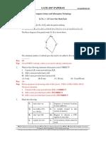 CS GATE'2017 Paper 02 Key Solution