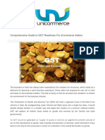 Comprehensive Guide to GST by www.unicommerce.com