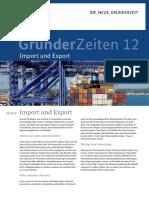 Infoletter Gruenderzeiten Nr 12 Import ExportI