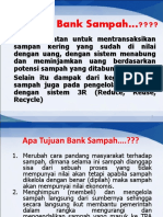 Teknis Manajemen Bank Sampah Asli