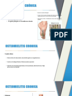 Seminario Osteomielitis Cronica